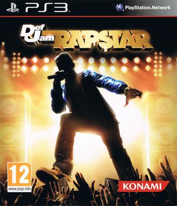 Def Jam Rapstar PS3 coverM (BLES00983)