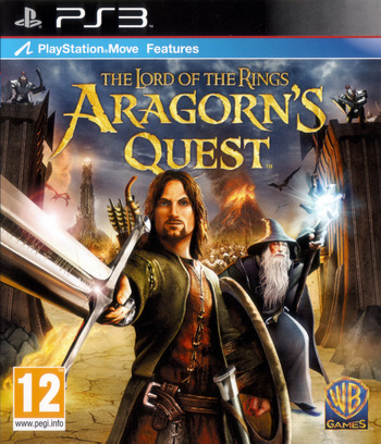 The Lord of the Rings: Aragorn's Quest PS3 coverM (BLES00998)