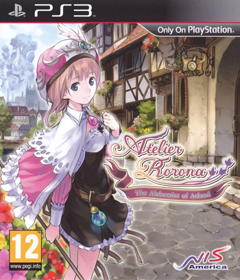 Atelier Rorona: The Alchemist of Arland Array coverM (BLES01030)
