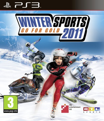 Winter Sports 2011: Go for Gold PS3 coverM (BLES01061)