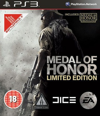Medal of Honor (Limited Edition) PS3 coverM (BLES01067)
