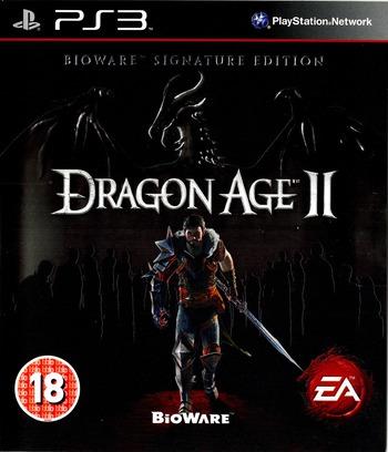 Dragon Age II (Bioware Signature Edition) PS3 coverM (BLES01084)
