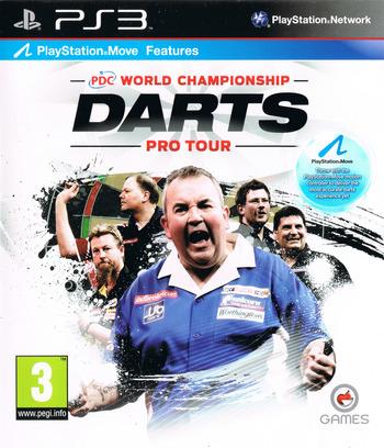PDC World Championship Darts: Pro Tour PS3 coverM (BLES01090)