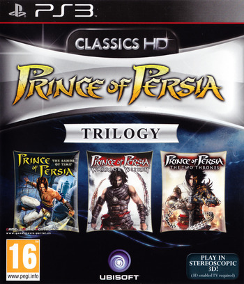 Prince of Persia Trilogy 3D PS3 coverM (BLES01092)