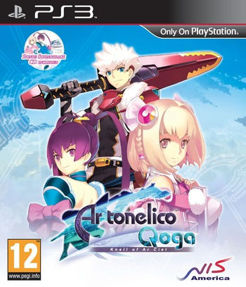 Ar Tonelico Qoga: Knell of Ar Ciel PS3 coverM (BLES01102)