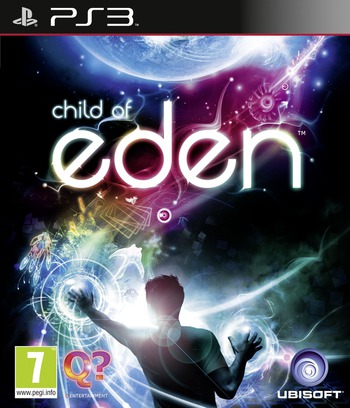 Child of Eden PS3 coverM (BLES01114)