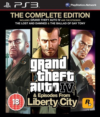 Grand Theft Auto IV: Complete Edition PS3 coverM (BLES01128)