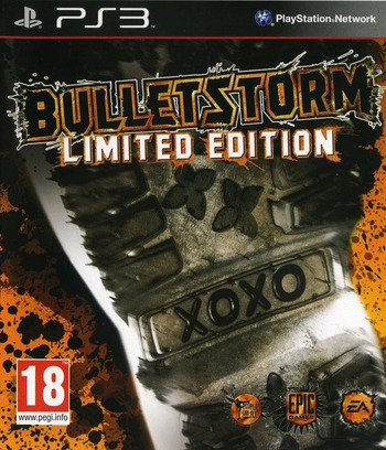 Bulletstorm (Limited Edition) PS3 coverM (BLES01134)