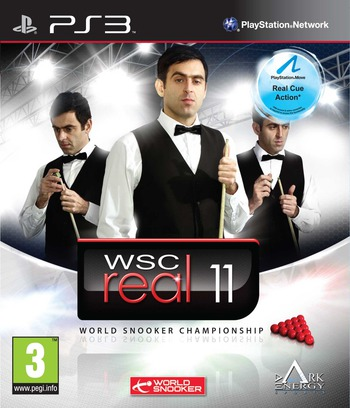 WSC Real 11: World Snooker Championship PS3 coverM (BLES01148)