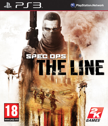 Spec Ops: The Line PS3 coverM (BLES01157)