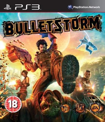 Bulletstorm PS3 coverM (BLES01212)