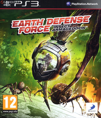Earth Defense Force: Insect Armageddon PS3 coverM (BLES01214)