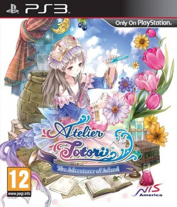 Atelier Totori: The Adventurer of Arland PS3 coverM (BLES01221)