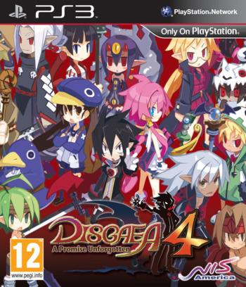 Disgaea 4: A Promise Unforgotten PS3 coverM (BLES01225)