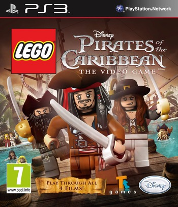 Pirates of the Caribbean: The Video Game PS3 coverM (BLES01239)