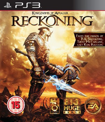Kingdoms of Amalur: Reckoning PS3 coverM (BLES01251)