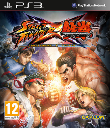 Street Fighter X Tekken PS3 coverM (BLES01252)