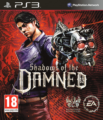 Shadows of the Damned PS3 coverM (BLES01276)