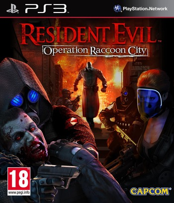 Resident Evil : Operation Raccoon City PS3 coverM (BLES01288)