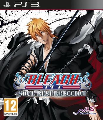 Bleach: Soul Resurrección PS3 coverM (BLES01315)