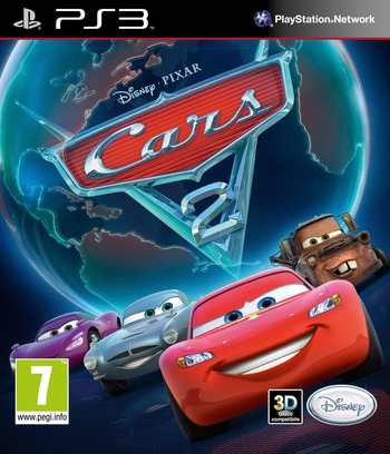 Cars 2: The Video Game PS3 coverM (BLES01328)