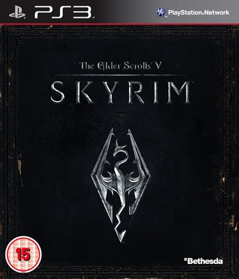 The Elder Scrolls V: Skyrim PS3 coverM (BLES01330)