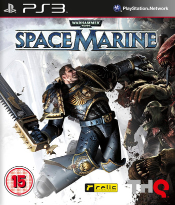 Warhammer 40000: Space Marine PS3 coverM (BLES01347)