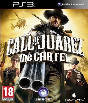 Call of Juarez: the Cartel PS3 coverM (BLES01352)