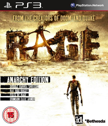 Rage: Anarchy Edition PS3 coverM (BLES01378)