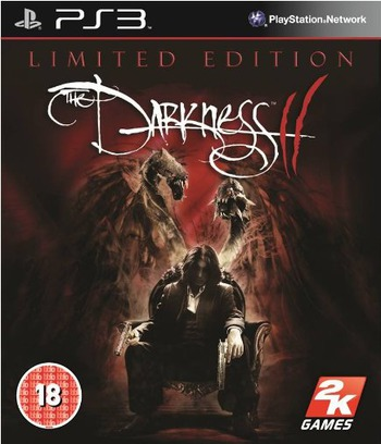 The Darkness II PS3 coverM (BLES01388)