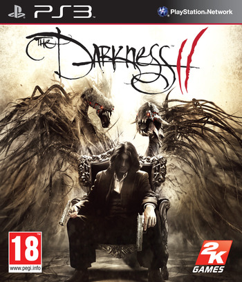 The Darkness II PS3 coverM (BLES01390)