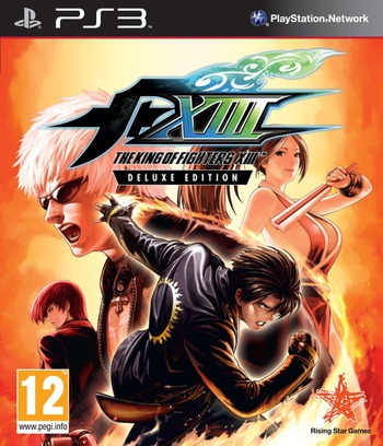 The King of Fighters XIII PS3 coverM (BLES01409)