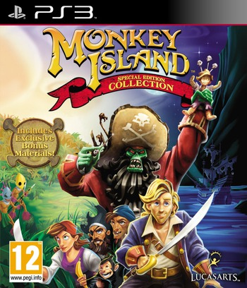 Monkey Island (Special Edition Collection) Array coverM (BLES01413)