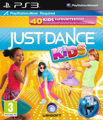 Just Dance Kids PS3 coverM (BLES01447)