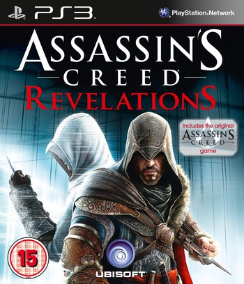 Assassin's Creed: Revelations PS3 coverM (BLES01467)