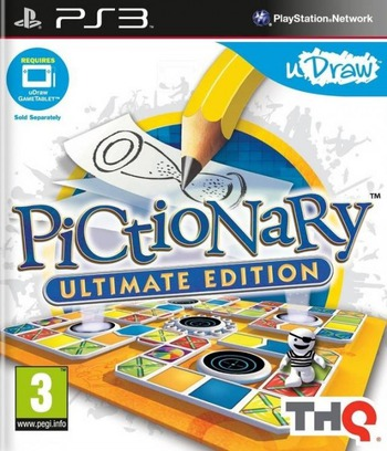 Pictionary: Ultimate Edition PS3 coverM (BLES01474)