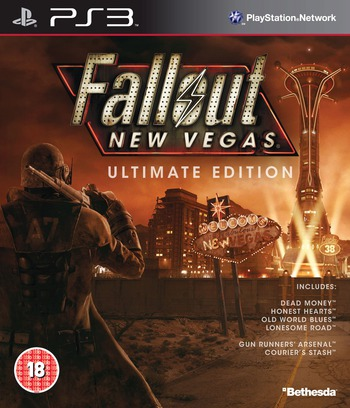 Fallout New Vegas:Ultimate Edition PS3 coverM (BLES01475)