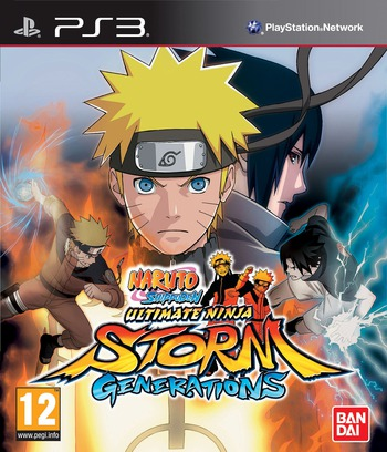 Naruto Shippuden: Ultimate Ninja Storm Generations PS3 coverM (BLES01481)