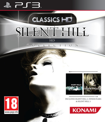 Silent Hill: HD Collection PS3 coverM (BLES01504)