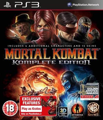 Mortal Kombat Komplete Edition PS3 coverM (BLES01508)