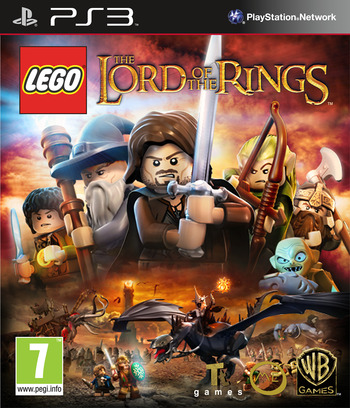 LEGO The Lord of the Rings PS3 coverM (BLES01516)