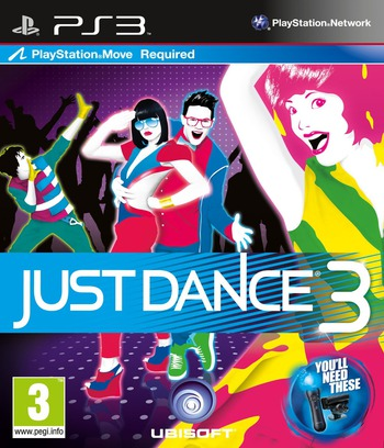 Just Dance 3 PS3 coverM (BLES01522)