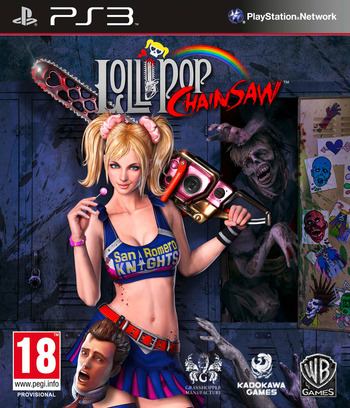 Lollipop Chainsaw PS3 coverM (BLES01525)