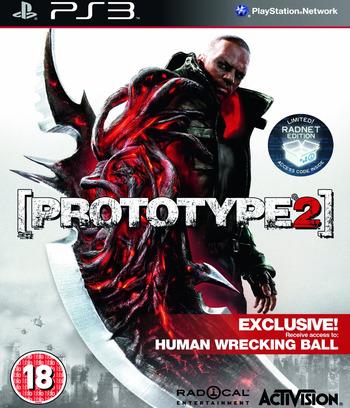 Prototype 2 PS3 coverM (BLES01532)