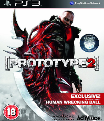 Prototype 2 PS3 coverM (BLES01533)