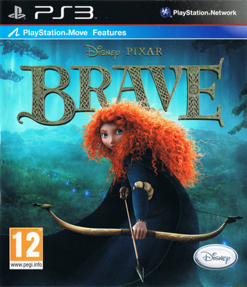 Brave: The Video Game PS3 coverM (BLES01542)