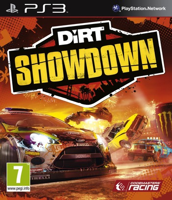 DiRT Showdown PS3 coverM (BLES01578)