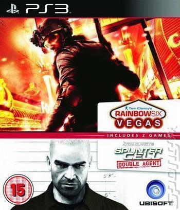 Tom Clancy's Splinter Cell Double Agent / Rainbow Six Vegas (Double Pack) PS3 coverM (BLES01591)