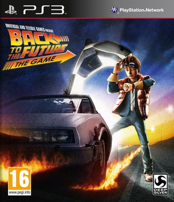 Back to the Future: The Game PS3 coverM (BLES01596)