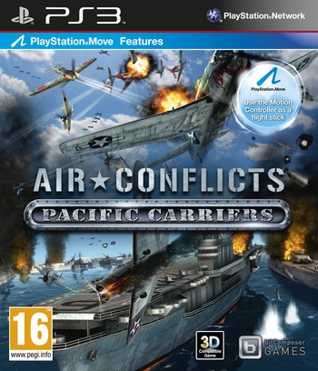 Air Conflicts: Pacific Carriers PS3 coverM (BLES01604)